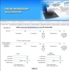 Pag-Ibig Online Registation