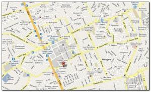 Pag-Ibig Cubao Map